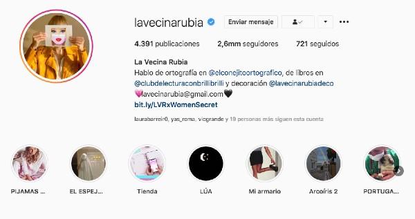 lavecinarubia instagram